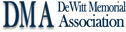DeWitt Memorial Association Logo